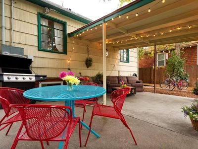 Photo for Business Executive North End Home w/ 100 Mbs Internet and backyard near downtown