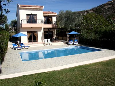 Photo for AMPHITRITE VILLA. Luxurious villa just 200 metres from the beach.Free Wi-Fi