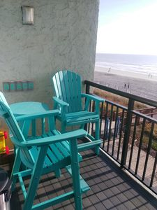 Photo for Bluewater Resort 303 (DIRECT OCEANFRONT CONDO)