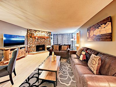 Living Area - Welcome to Copper Mountain Resort! This condo is professionally managed by TurnKey Vacation Rentals.