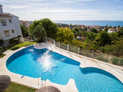 Photo for Suitable in downtown Malaga, 3 pools open year-round, near the beach
