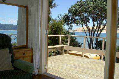 View from lounge looking out to Hokianga Heads