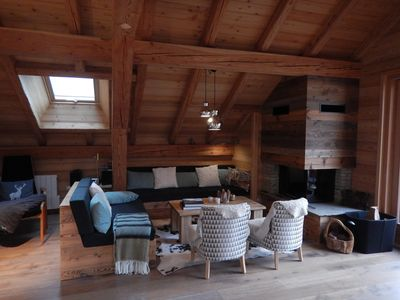 Photo for Beautiful luxury apartment - 8 to 9 beds of 132m2 ski slope on foot