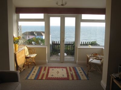 Photo for Comfortable cottage with stunning sea view in Ventnor, Isle of Wight