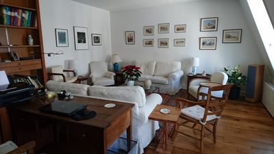 Photo for Stylish, sunny and very quiet, perfect location St Germain