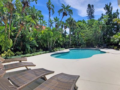 Photo for Immaculate Siesta Key Beachside Private Vacation Home w/ Large Heated Pool