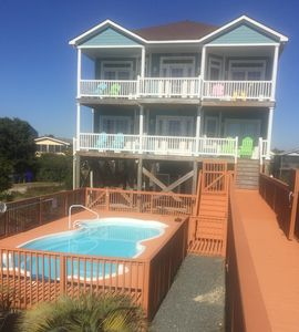 Photo for Oceanfront! Elevator! 33'x14' Inground  Pool!  5 Bd/4Bth