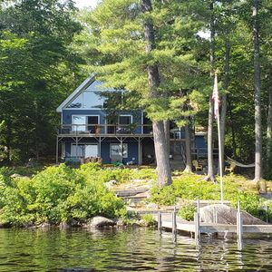 Photo for Family Friendly Waterfront Lodge on Long Lake