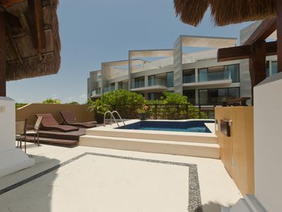 Photo for Fantastic Penthouse at Pueblito Escondido, Private Pool and close to the beach