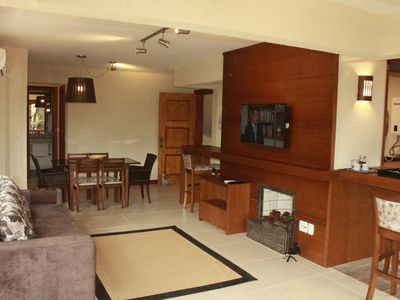 Photo for 2 BEDROOM APARTMENT IN CONDOMINIUM WITH INFRA, NEAR THE CENTER - 6 PEOPLE!