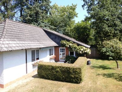 Photo for Holiday house for 4 persons + 1 extra bed in Malchow - Holiday house for 4-5 persons in Malchow with jetty
