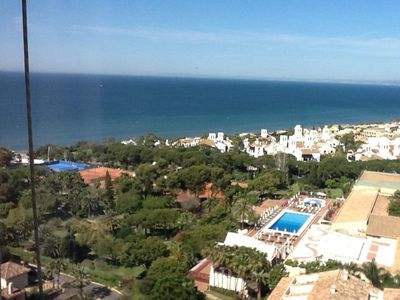 Photo for Marbella Very Select Area- Stunning Sea and Mountain Views - Studio 15th Floor
