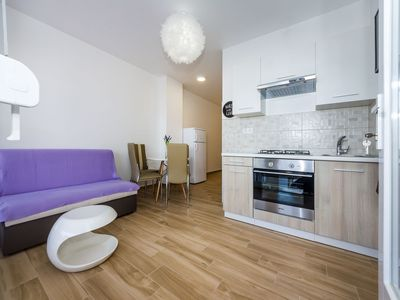 Photo for Studio apartment with seaview and terrace for 3 people