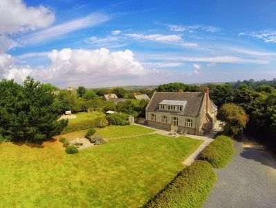 Photo for Impressive and spacious converted Village Hall in a picturesque rural village on the South Cornish C
