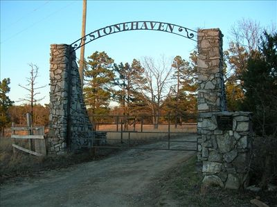 Entrance to Stone Haven