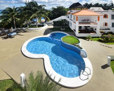 Photo for Amazing Location in Cozumel! Oceanfront! Perfect for Divers! (Paradise 2A)