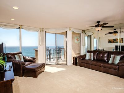 Photo for A SHORE THING! Oceanfront, 1 BR Condo DMST21