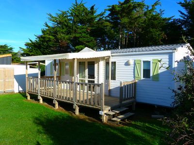 Photo for ILE OLERON MOBILE HOME 3 ROOMS 6/8 PEOPLE LARGE MODEL