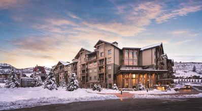 Photo for Wyndham Park City, 2 bdrm, 2 bath deluxe suite, steps from renowned ski slopes