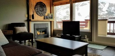 Photo for Stunning mountain views with great ski access!