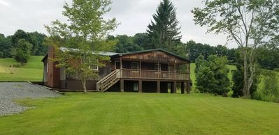 Photo for Private and secluded. Newly remodeled home located on a beautiful 70 acre farm