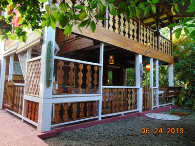Photo for 'EL PRINCIPITO' Typical  wooden Lodge of caribbean coast close to the beach