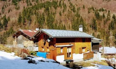 Photo for Rent out chalet in Haute Savoie (France Mountain) with splendid sight