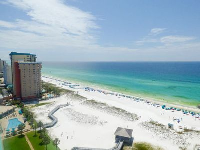 Photo for Pelican Beach Resort 1917-2BR w/GulfFront☀Aug 25 to 28 $871 Total!☀TikiBar+Pool