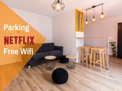 Photo for Studio ToulouseCityStay Blagnac ★ Parking ★ Netflix ★ Wifi