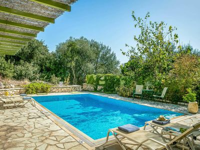 Photo for Comfortable spacious villa w/ tasteful décor  close to sunbathing and swimming platform and pretty enclosed garden