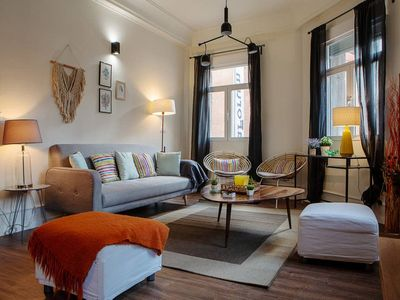 Photo for Spacious & Cosy 3bed3bath in Madrid City Center