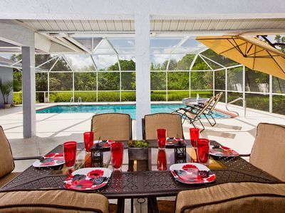 Photo for Huge Home Over 6,000 Sq Ft, Near Beaches, Game Room, Heated Private Pool