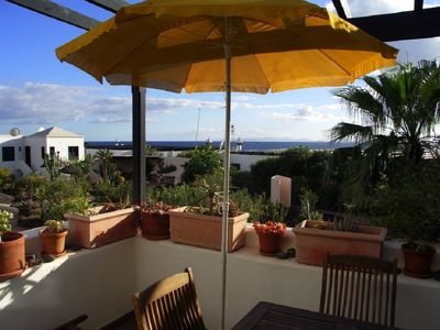 Photo for Tropicana with sea view and garden dream! Near the beach (only 150 m)!