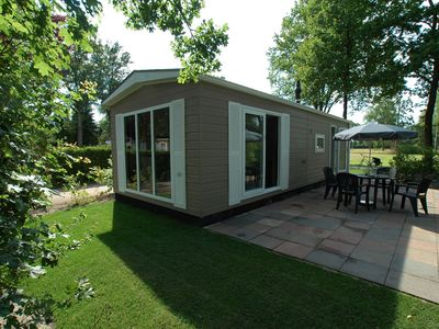 Photo for Detached accommodationsin a holiday park including a covered and open-air swimming pool