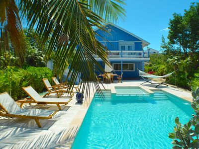 Photo for Grace Bay Location - Hide Away Villa walk to  Beach and the Bight Reef - 3BR/3B