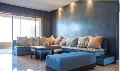 Photo for 2BR 2BA ELEGANT MARRAKECH FLAT WITH POOL AND GOLF ACCESS