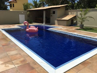 Photo for Villa with beautiful pool, near the center of Arraial d '