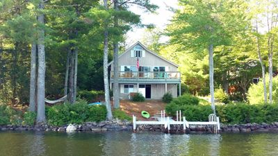 Magnificent Quintessential Lake Front Cottage On Long Lake In Harrison Maine Harrison Download Free Architecture Designs Scobabritishbridgeorg