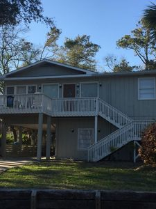 Photo for 397 Steps To The Beach; Quiet, Private Residential Pet-Friendly Home
