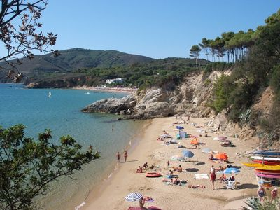 Photo for BILOCALE G to 150 meters from the sea area Calanchiole