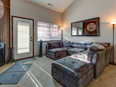 Photo for Large Giant Steps ski in/ ski out condo! - Game Room w/Hot Tuby -  Walking distance to the park and