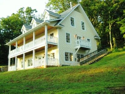 Main House - Porches Overlooking the Valley