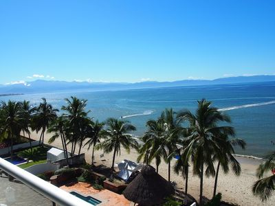 Photo for Direct Beachfront 3 Bed, 3 Bath Condo