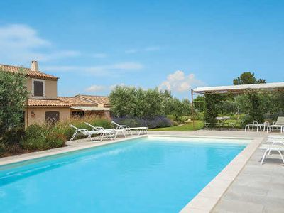 Photo for 4 bedroom villa w/ great views, BBQ, table tennis, air con & free Wi-Fi