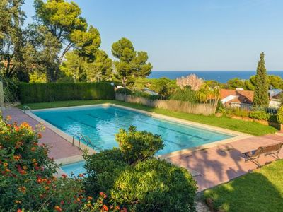 Photo for Calella de Palafrugell Holiday Home, Sleeps 8 with Pool