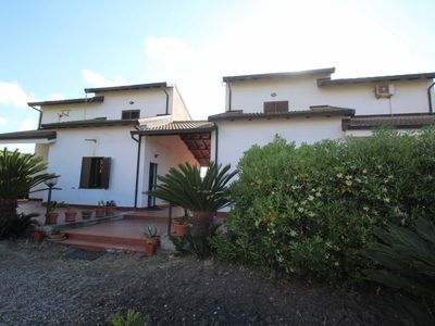 Photo for Villa 150 meters from the beautiful beach of Punta Safò