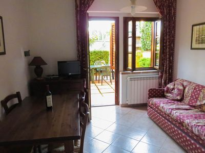 Photo for Apartment in terraced house with terrace and panoramic view, 2-room-5 persons