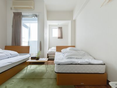 Photo for Clean 15 Minutes Shin-osaka Private Room In Renovated Hostel With 2 Single Beds