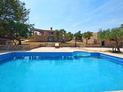 Photo for This 3-bedroom villa for up to 7 guests is located in Brac Island and has a private swimming pool, a