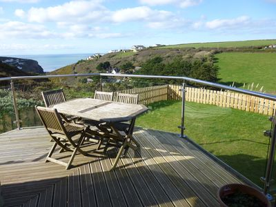 Photo for 3 Bedroom Home With Stunning Sea And Countryside Views